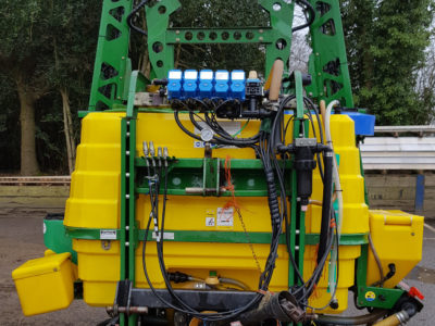 12m Boom, 1000ltr Tractor-Mounted Sprayer