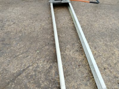 Belle Porto Screed, Concrete Vibrating Tamp Beam Finisher, Twin Beam Tamp