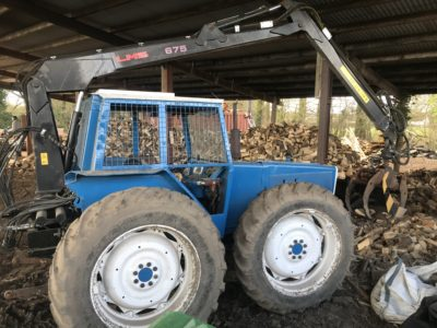 Ford County forestry tractor