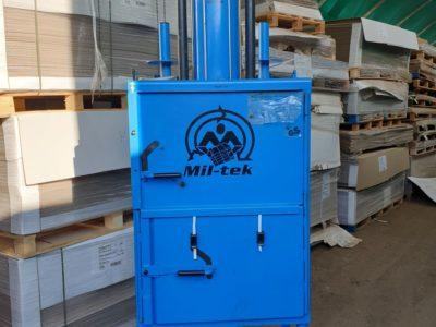Mil-tek 102 cardboard crusher/baler