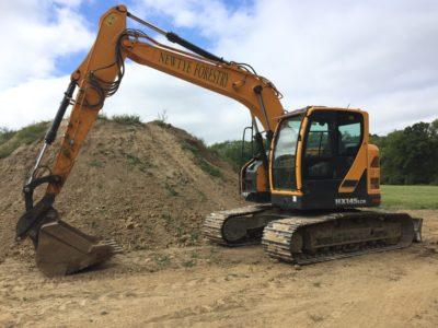 Hyundai HX145 Excavator