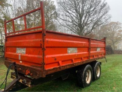 Griffiths GD10 Tipping Trailer